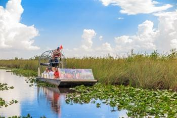 Airboat in de Everglades