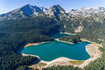 Black Lake Durmitor Montenegro