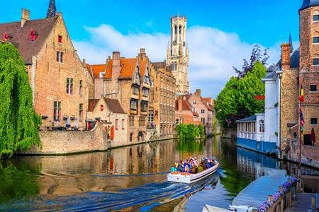 Boottocht in Brugge