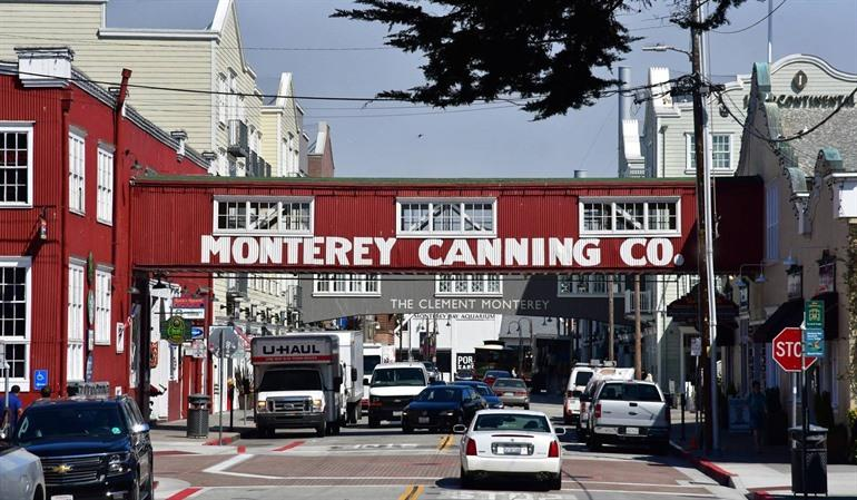 Cannery Wharf Monterey