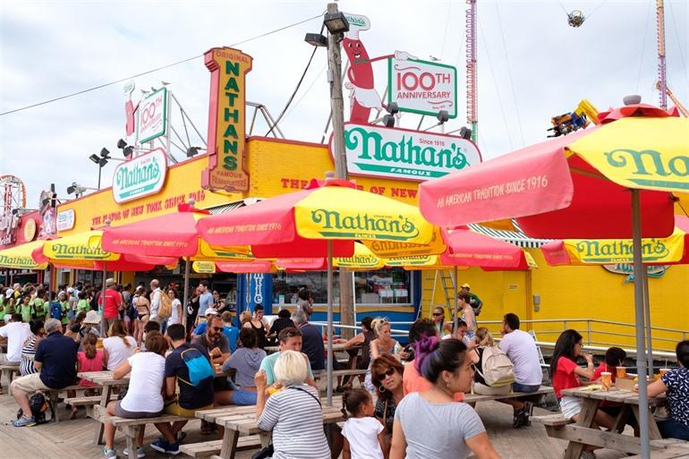Coney Island Nathan's Hot Dogs