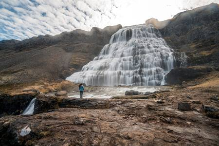 Dynjandi of Fjallfoss waterval