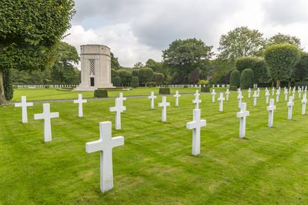 Flanders Field American Cemetery & Memorial in Waregem