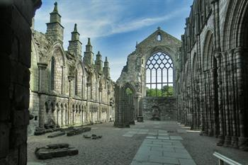 Holyrood Abbey - Edinburgh