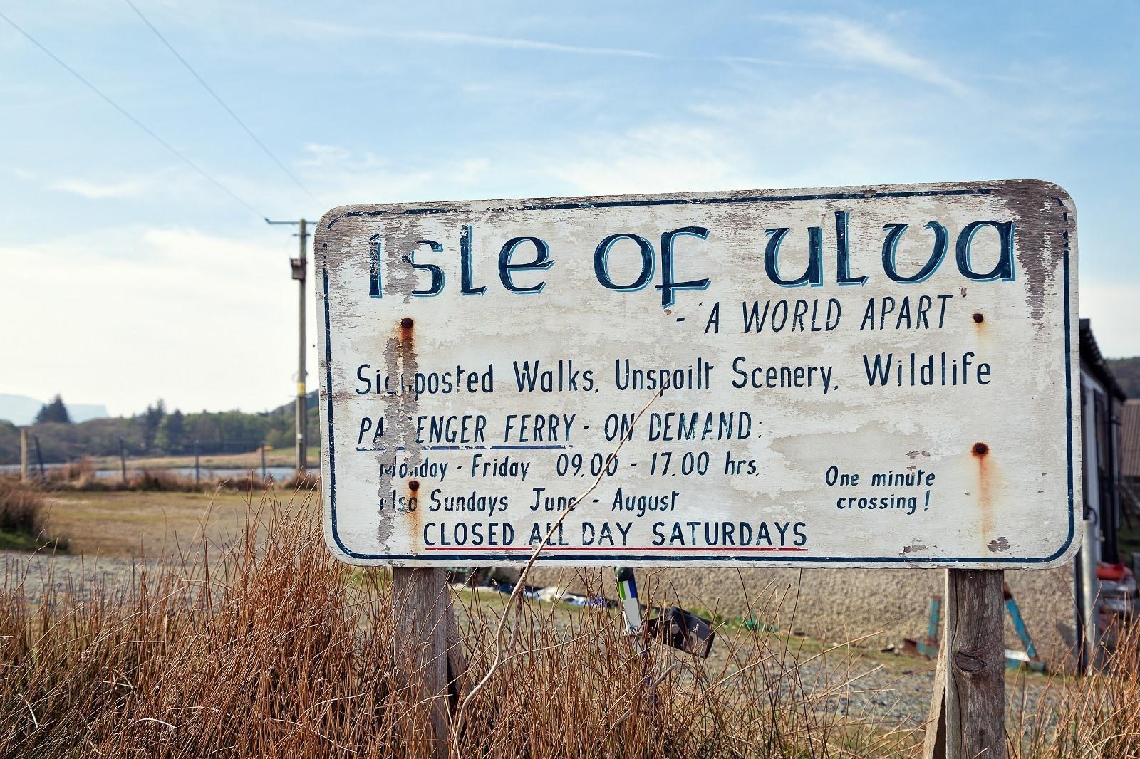 Bezienswaardigheden op Isle of Mull, een adembenemende bezoek!
