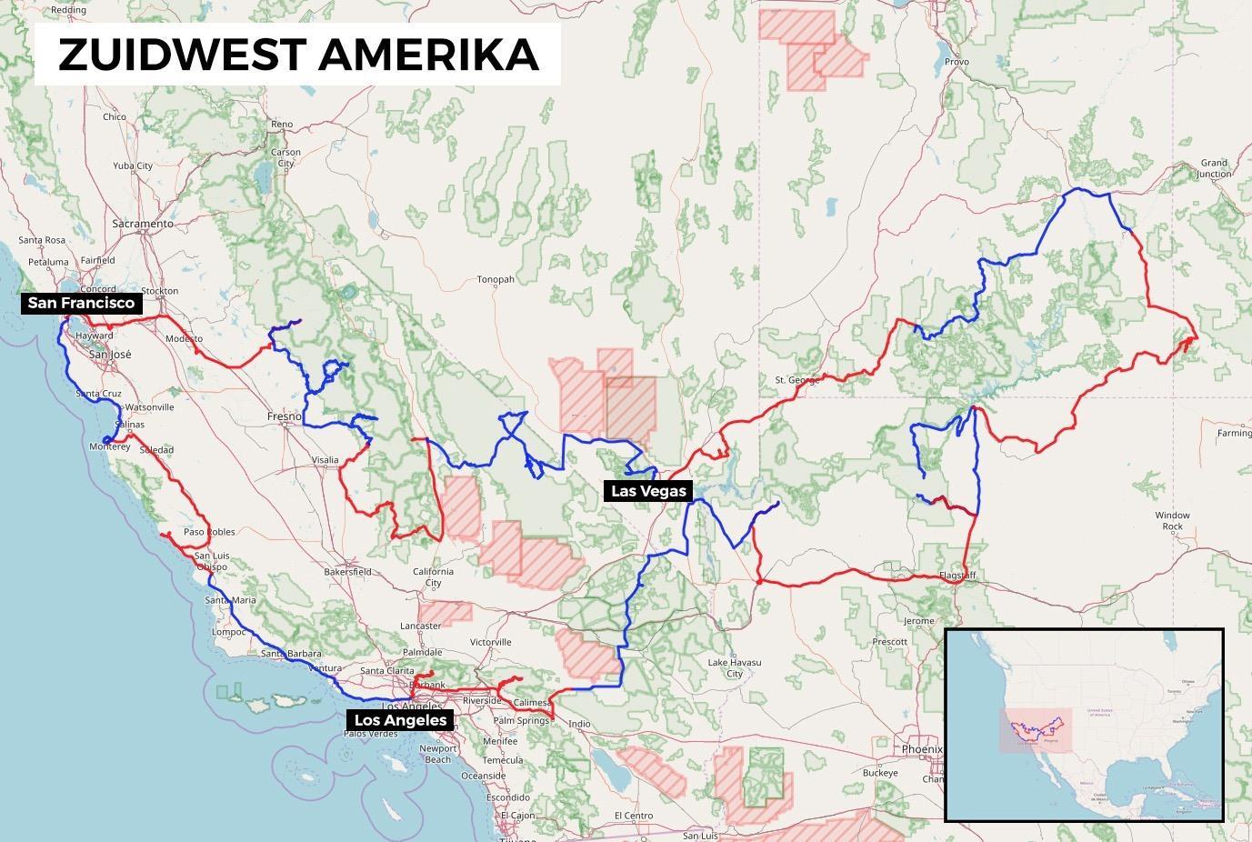 Rondreis Westkust Usa 21 Dagen Voorbeeldroute Reisschema Tips