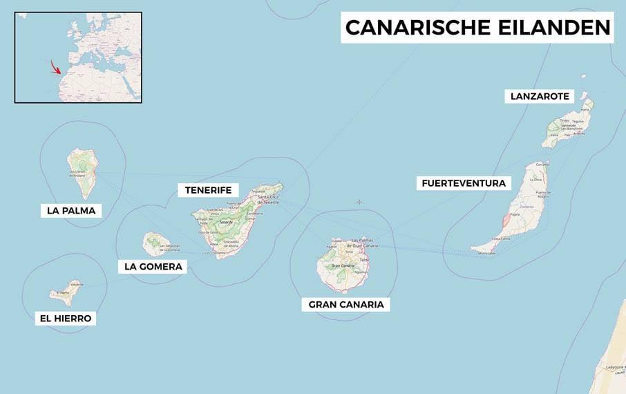 Welk canarisch eiland kiezen voor je vakantie de 7 for Welk behang kiezen
