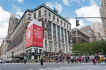 Macy's shoppen in New York