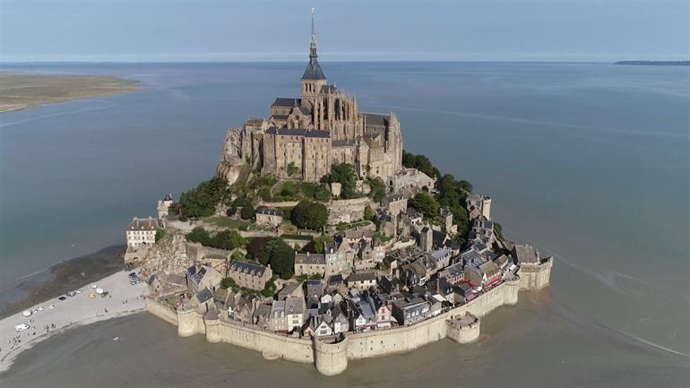 Mont Saint Michel in Normandie