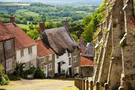 Shaftesbury en Gold Hill