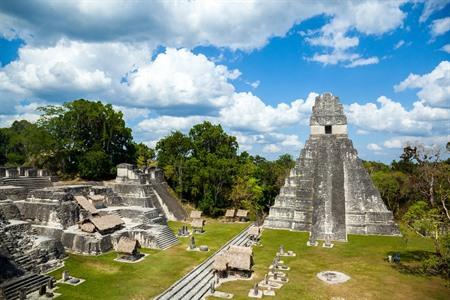Temple of the Great Jaguar, Tikal, Guatemala
