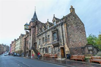 Tolbooth bij de Royal Mile - Edinburgh