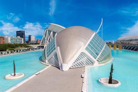 Ciudad De Las Artes Y Las Ciencias Stad Van Kunst En Wetenschap