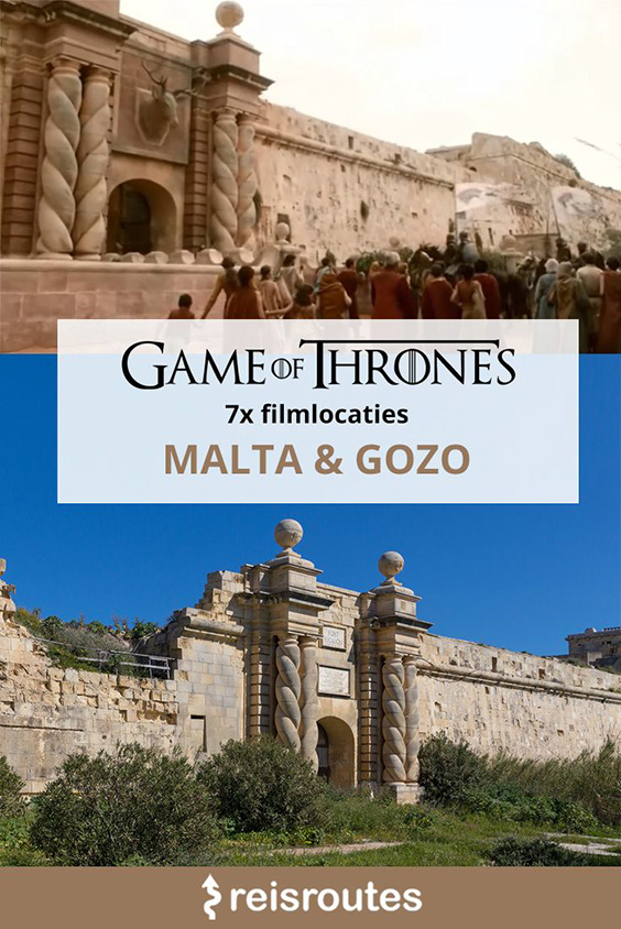 Pinterest 7 x Game of Thrones filmlocaties op Malta & Gozo