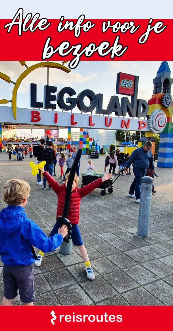 Pinterest Legoland Denemarken bezoeken (Billund)? Info, tips & tickets