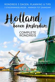 Holland boven Amsterdam
