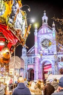 Kerstmarkt Brussel 2019 Wandelroute Langs De Kerstmarkten Kaart