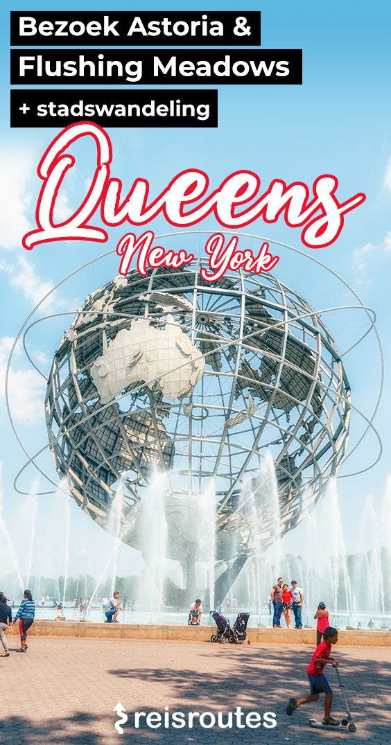 Pinterest Stadswandeling Queens New York - Astoria tot Flushing Meadows