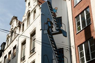 Stripwandeling Brussel: langs stripmuren en striphelden