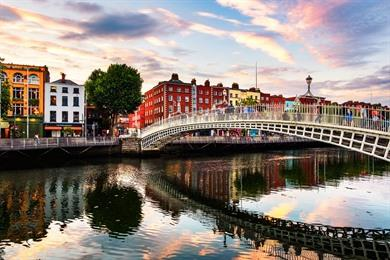 Dublin, stadswandeling langs highlights