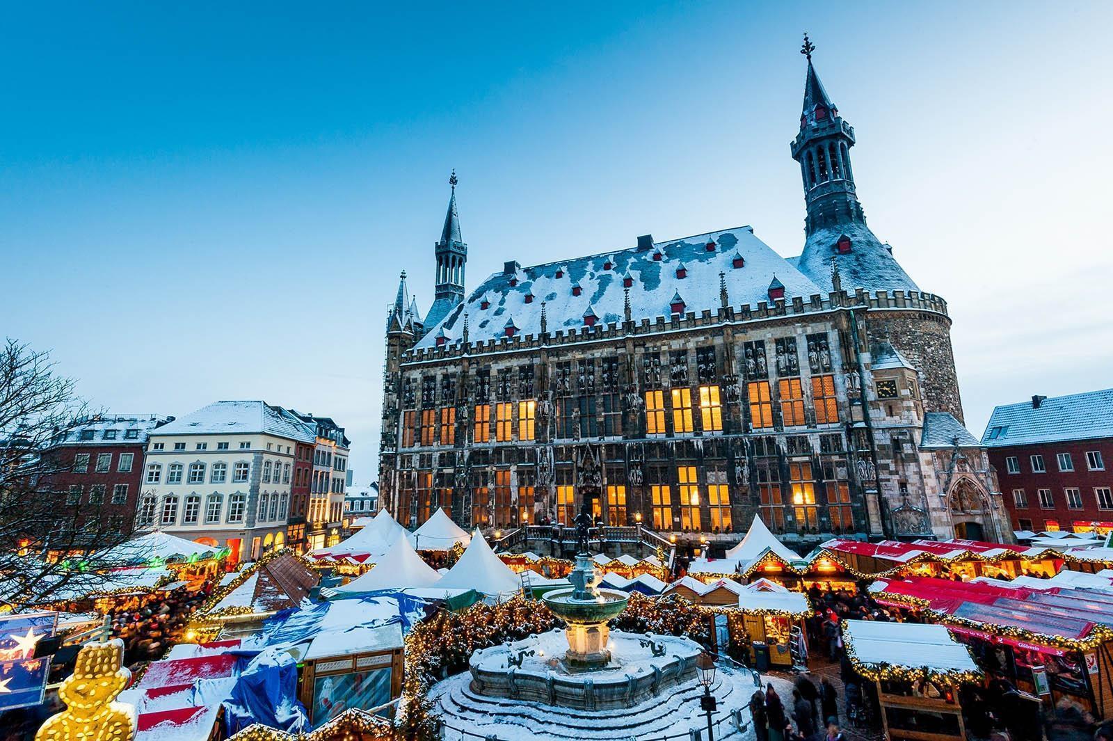 Kerstmarkt Aken 2019 Bezoeken Wandeling Langs De Kerstmarkten