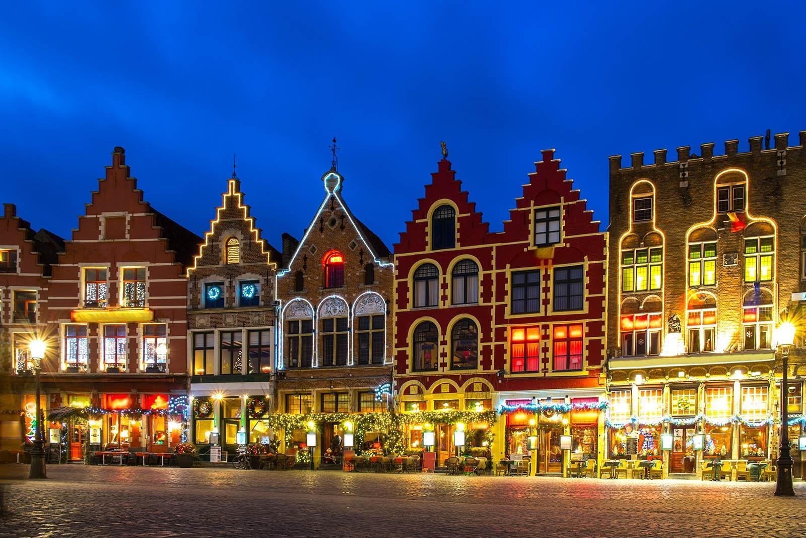 Kerstmarkt Brugge 2019 Wandelroute Langs De Kerstmarkten Kaart