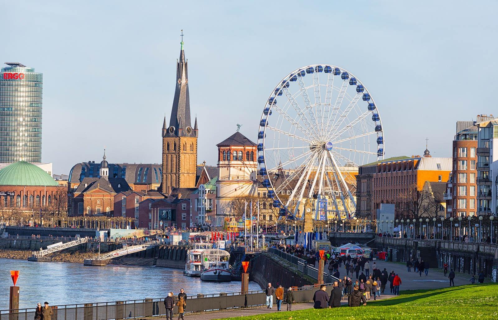 Kerstmarkt Dusseldorf 2019 Bezoeken Wandeling Langs De Kerstmarkten