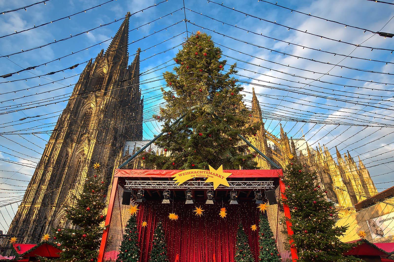Kerstmarkt Keulen 2019 Bezoeken Wandeling Langs De Kerstmarkten