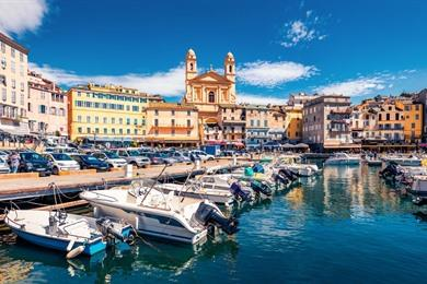 Stadswandeling door havenstad Bastia: Zie alle highlights